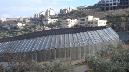 West Bank Separation Wall Stanito