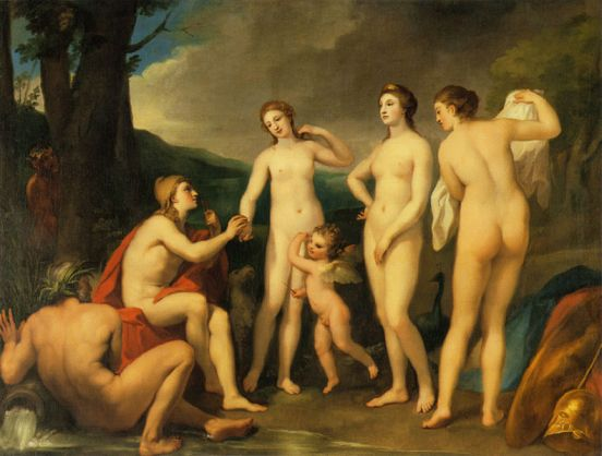 The Judgement of Paris Il giudizio di Paride Stanito