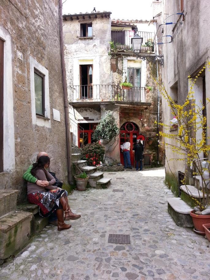streets of calcata stanito