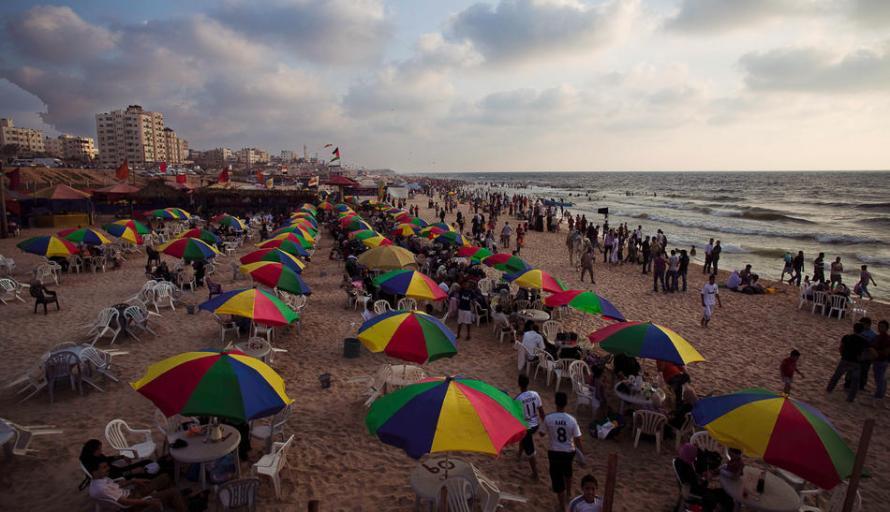 Photo of the Day: Gaza Beach