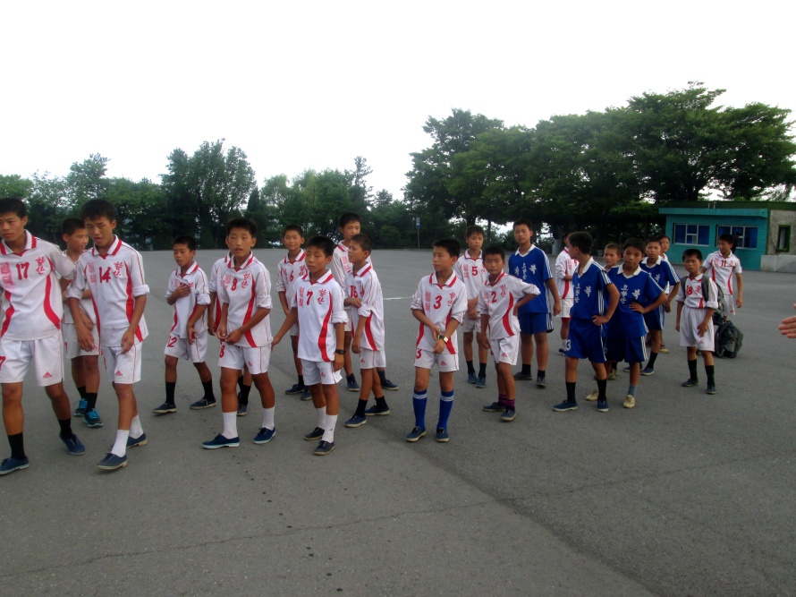 North Korea Soccer Juniorteam Stanito