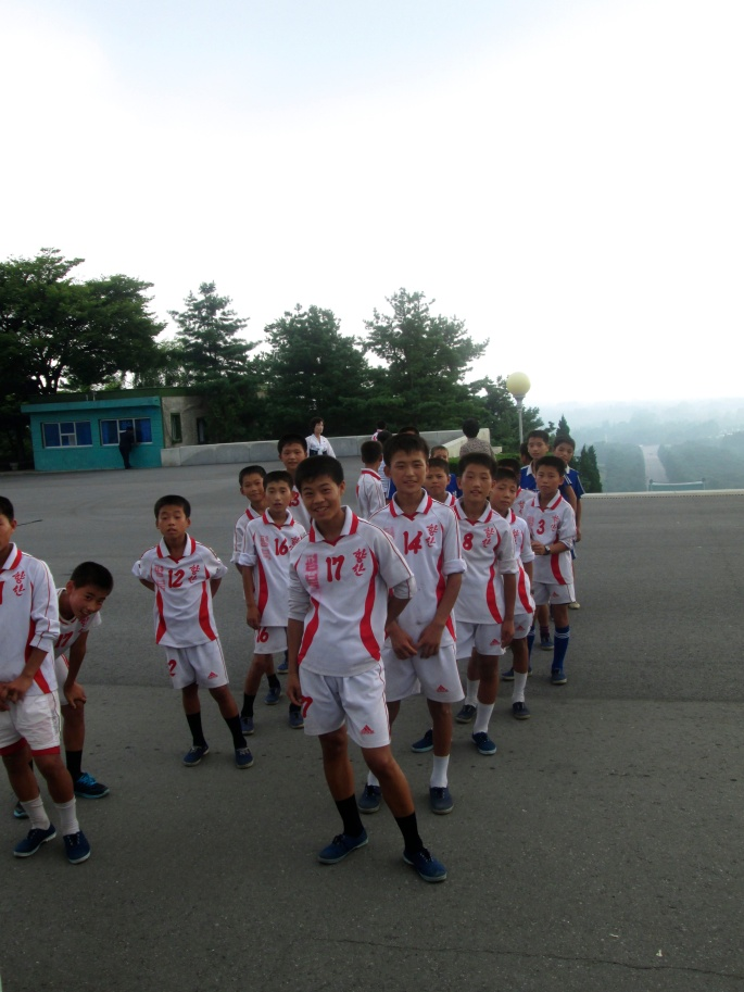 North Korea Soccer national team Stanito