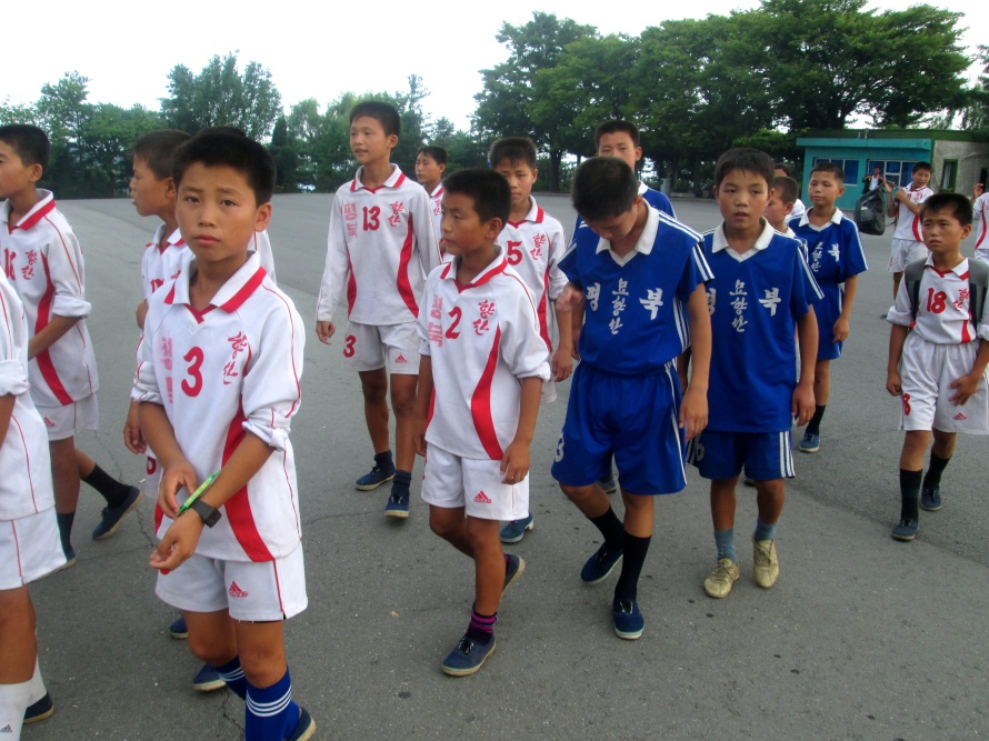 North Korea Soccer team Stanito 1