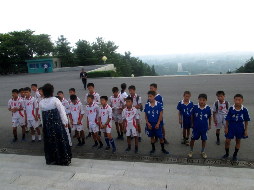 North Korea Soccer team Stanito 2