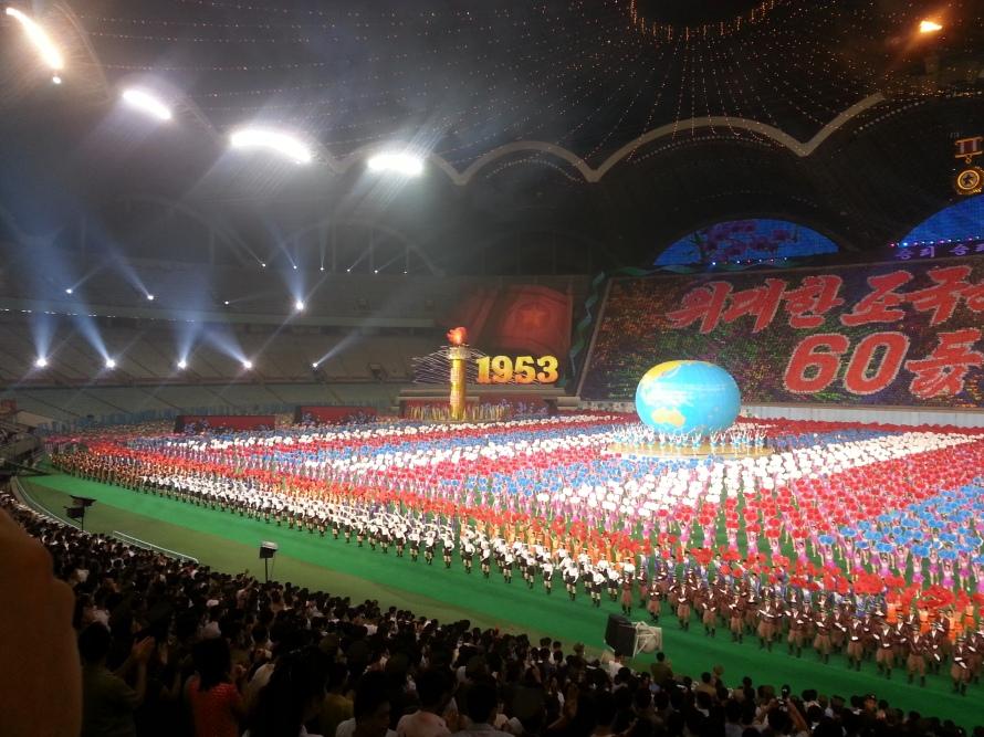 Arirang Mass Games North Korea stanito 1