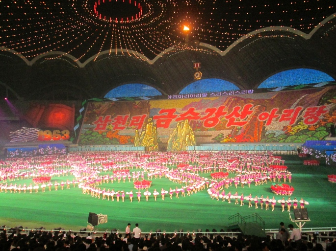 Arirang Mass Games Stanito North Korea 1