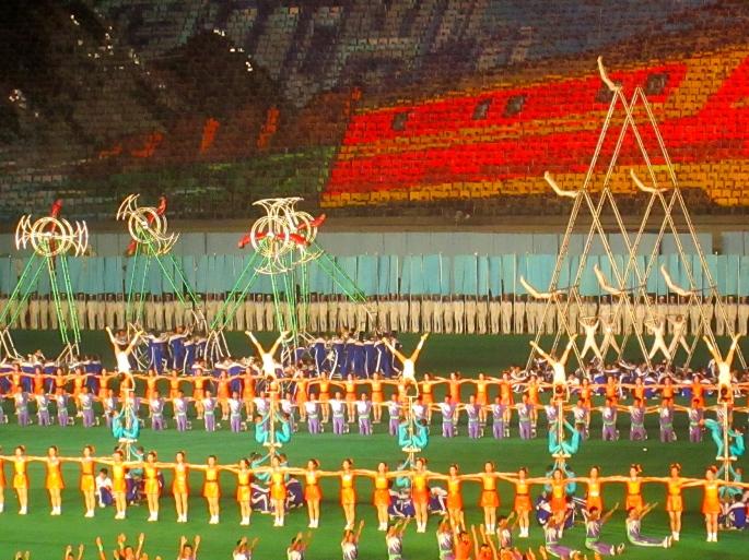 Arirang Mass Games Stanito North Korea 2