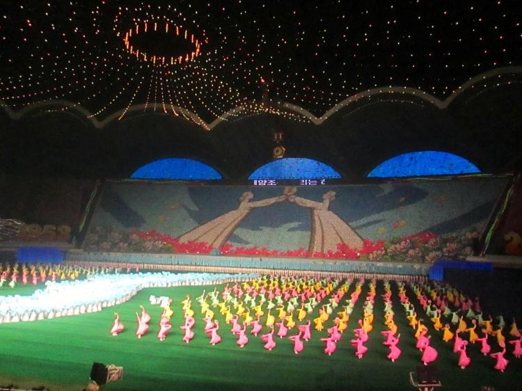 Arirang Mass Games Stanito North Korea