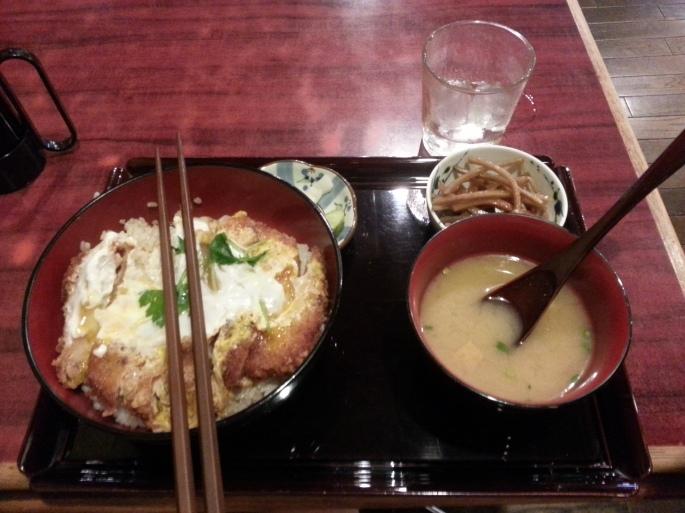 Stanito eating Katsudon Shibuya