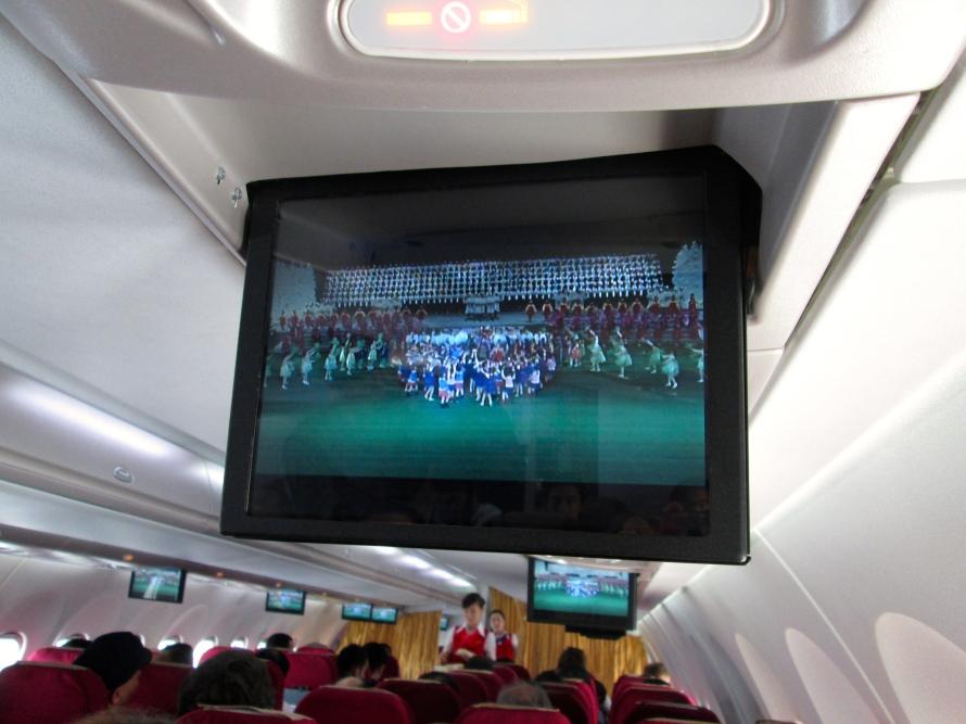 Flight on Air Koryo stanito