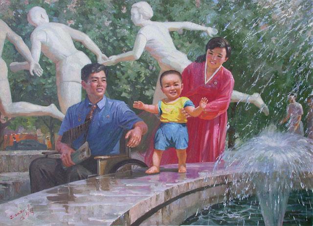 Kim Song Sik Fortunate north korea stanito