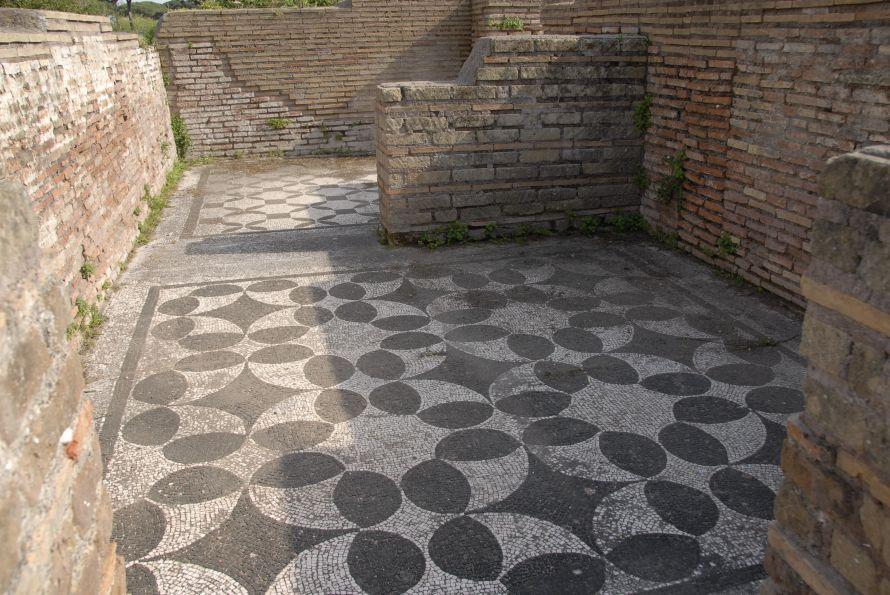Ostia Antica Floor Mosaic