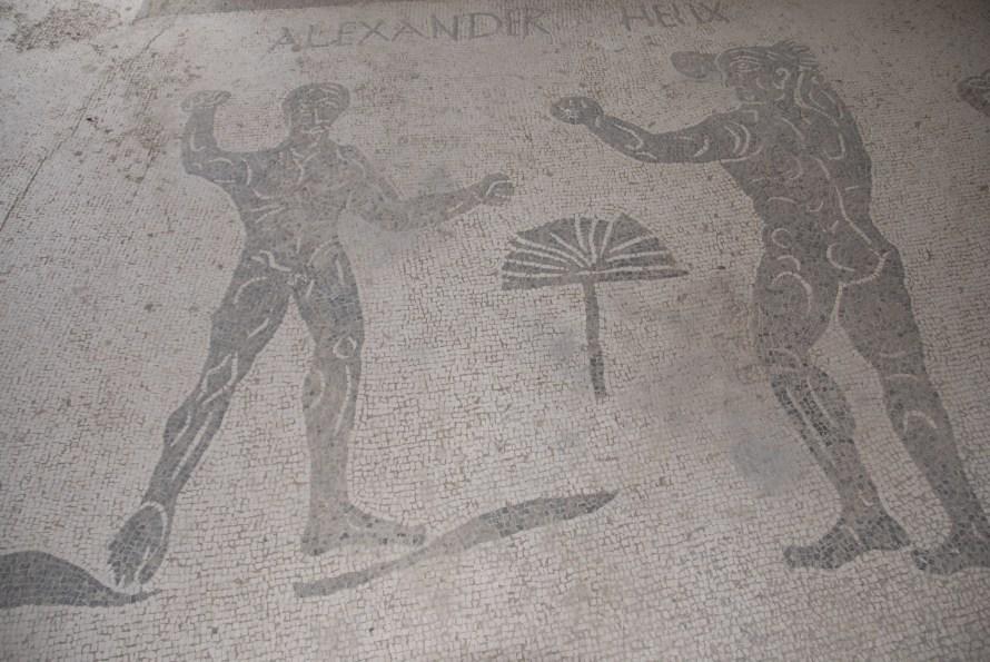 Ostia Antica Mosaic Alexander Heliz