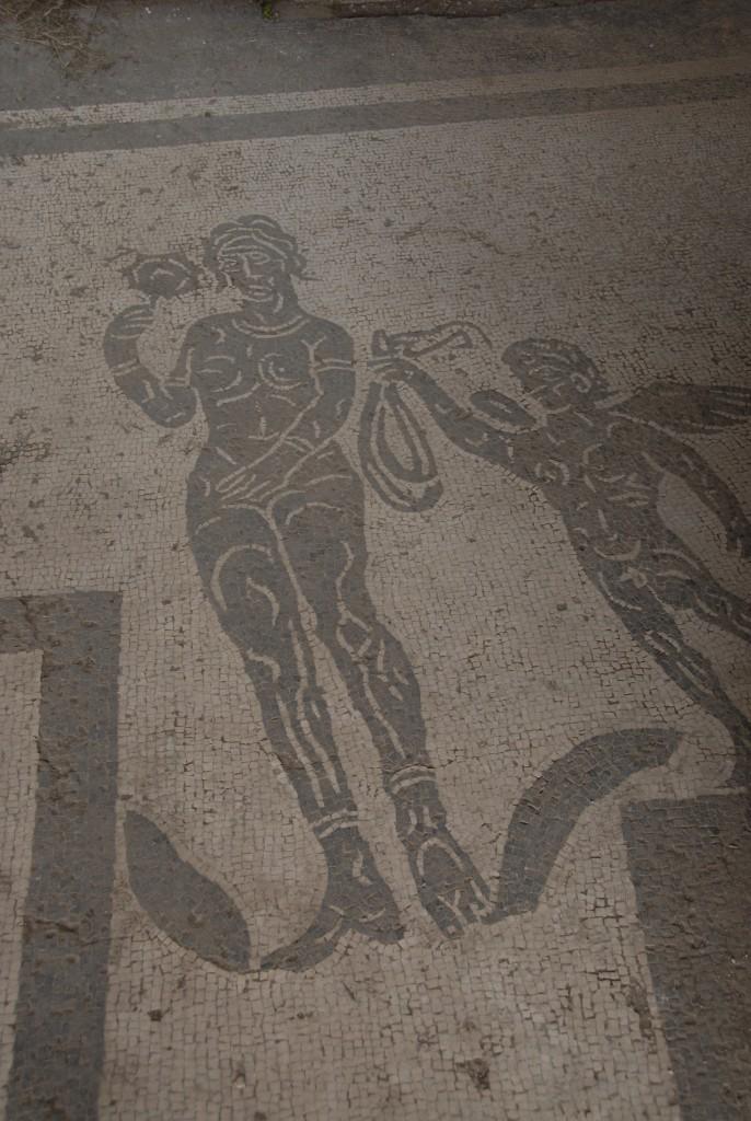 Ostia Antica Mosaic Venus