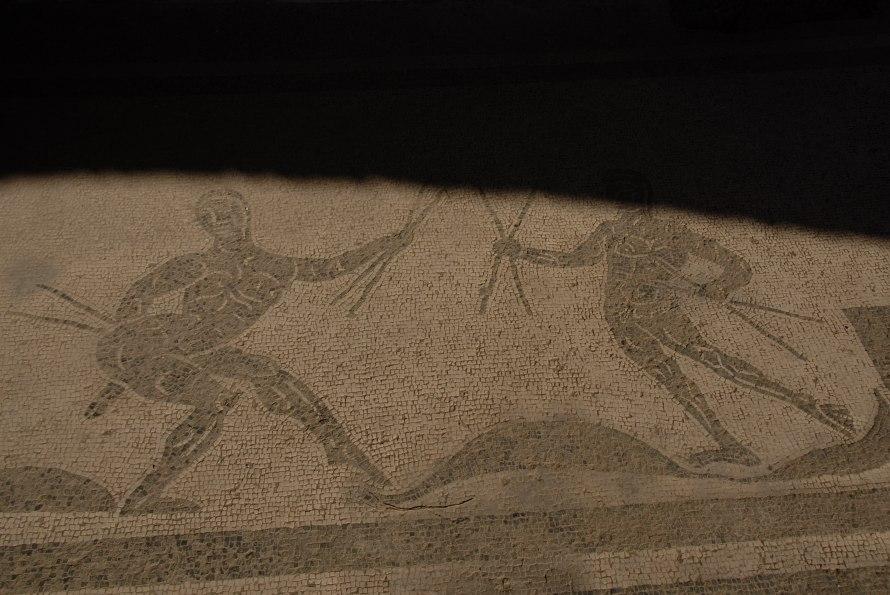 Ostia Antica Mosaic Warrior