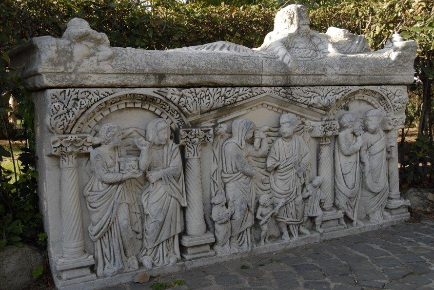 Ostia Antica Sarcophagus