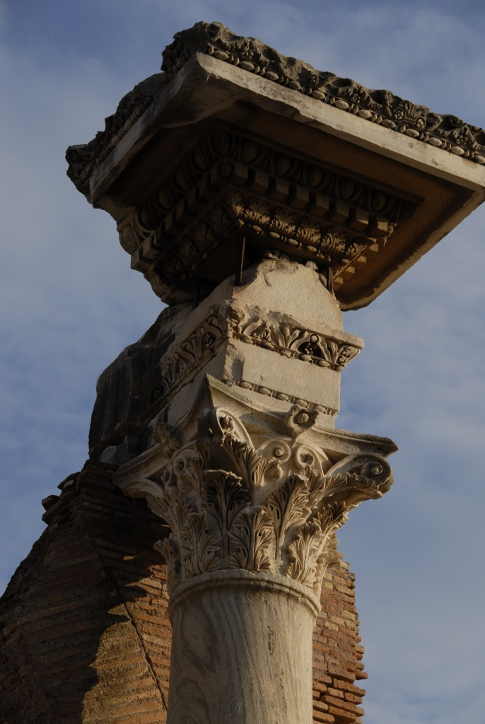 Ostia Antica Stanito Corinthian Column