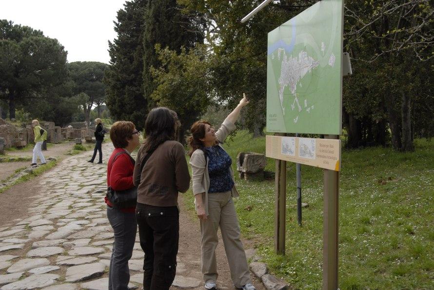 Ostia Antica Stanito Map
