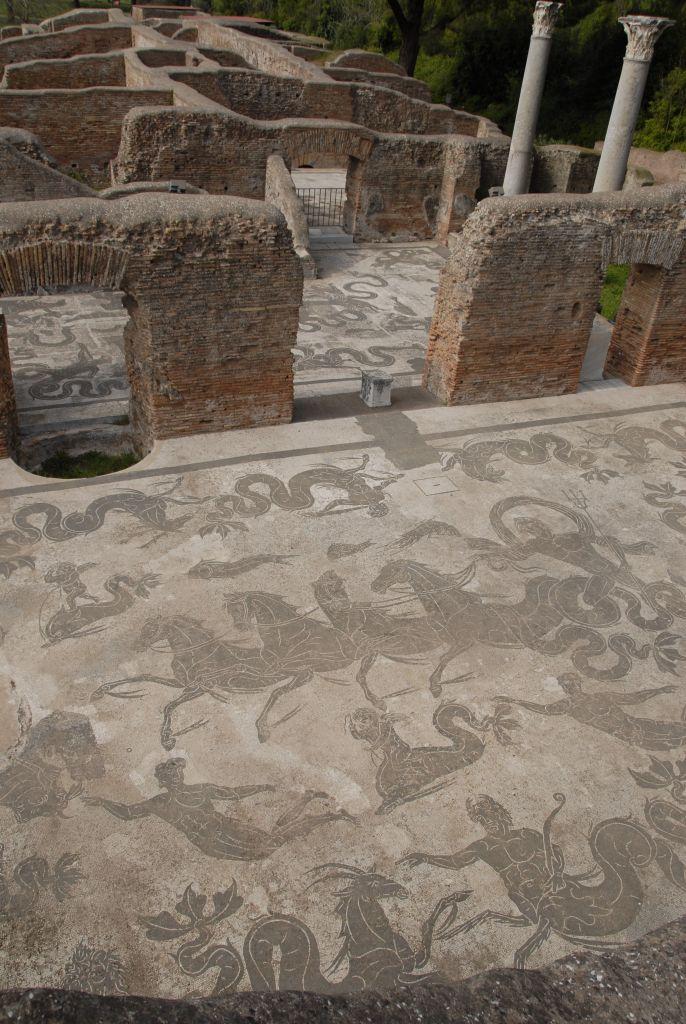 Ostia Antica Stanito Poseidon Mosaic