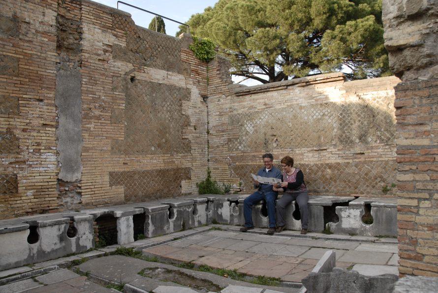 Ostia Antica Stanito Public Bathrooms 1