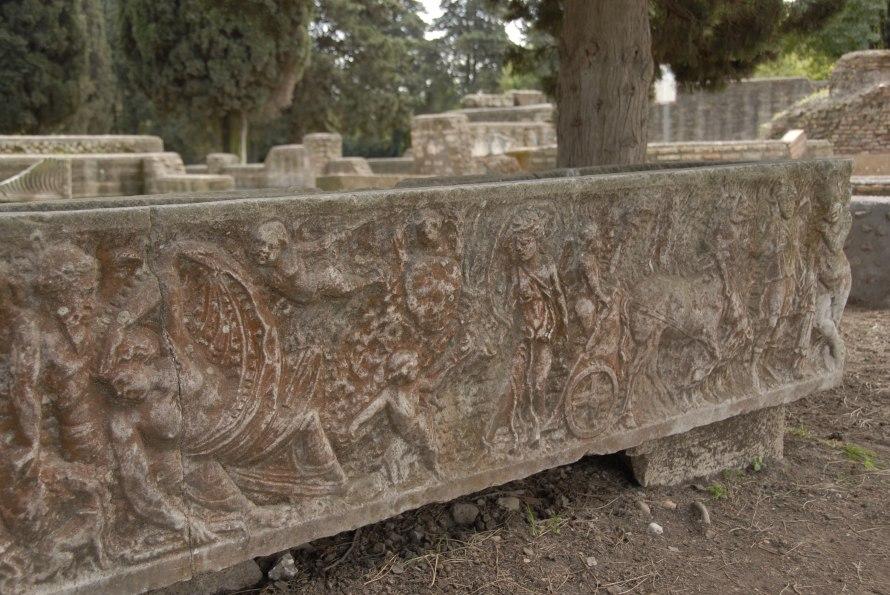 Ostia Antica Stanito Sarcophagus