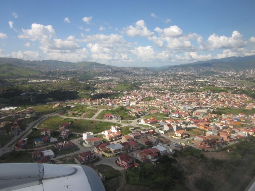 Landing Tegucigalpa Houses Toncontín