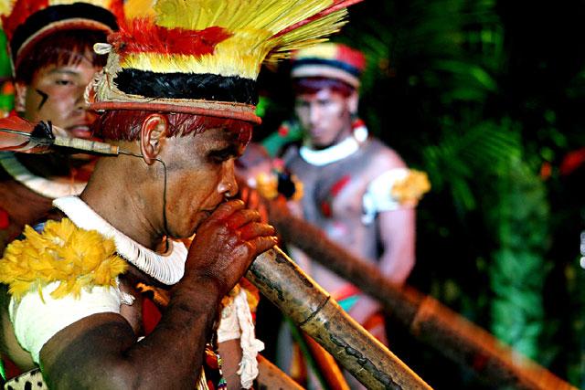 xingu flute ceremony