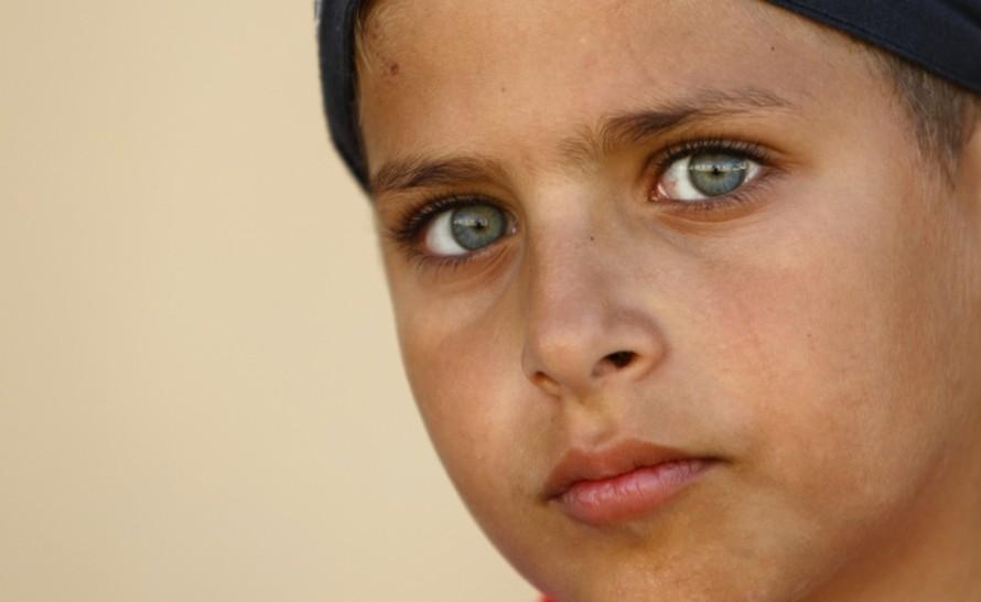 mohammed Syrian refugee child