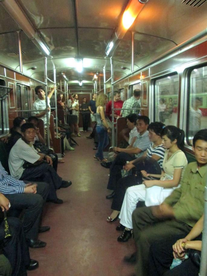 North Korea Metro Passengers 2