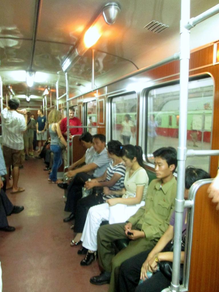 North Korea Metro Passengers Stanito
