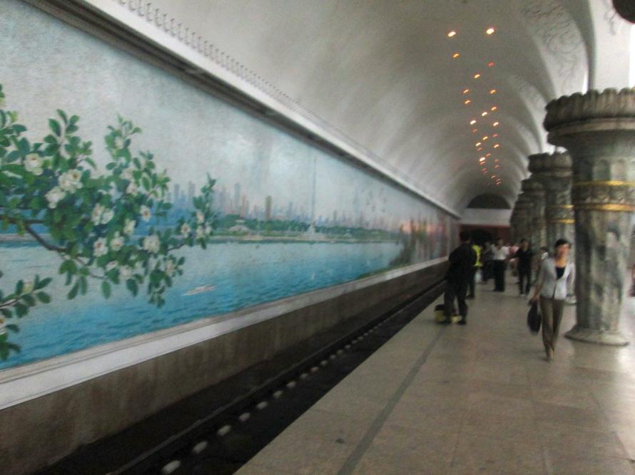 North Korea Metro Socialist Art 2
