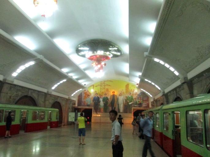 North Korea Metro Trains