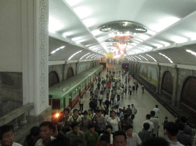 North Korea Puhoon Metro Station Stanito