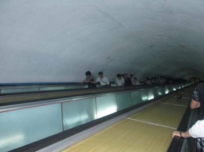 North Korea Underground deep stairs 1 Stanito