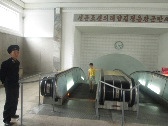 North Korea Underground Stanito Police and kid