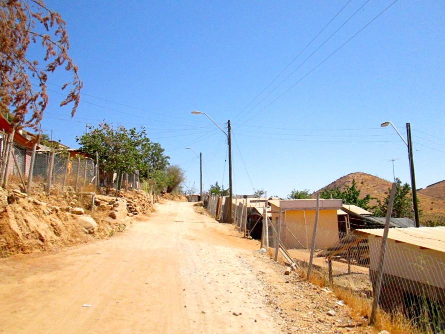 Calles Chañaral Alto Stanito