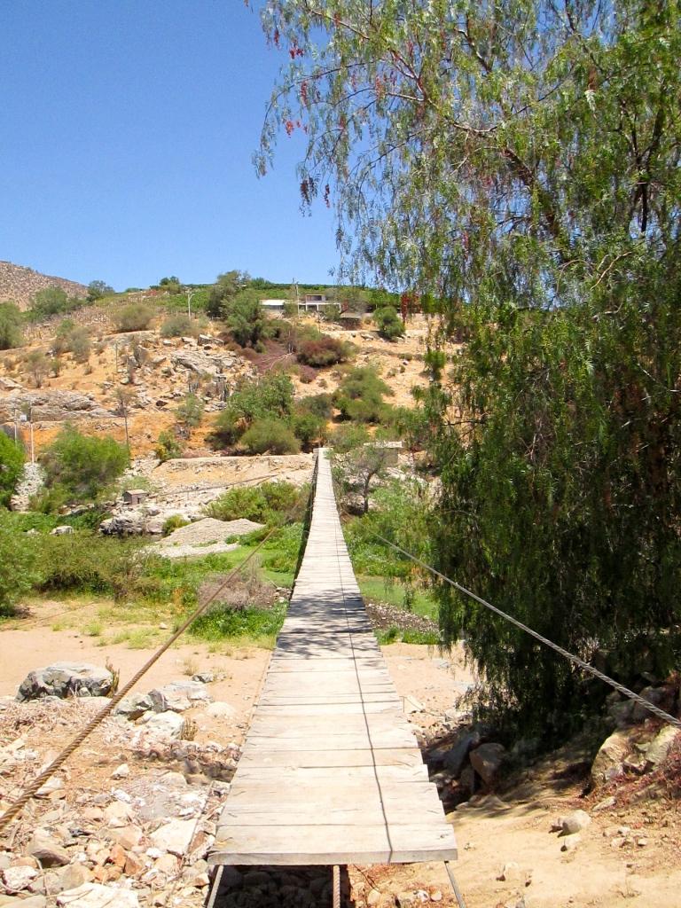 Chañaral Alto wooden bridge Stanito