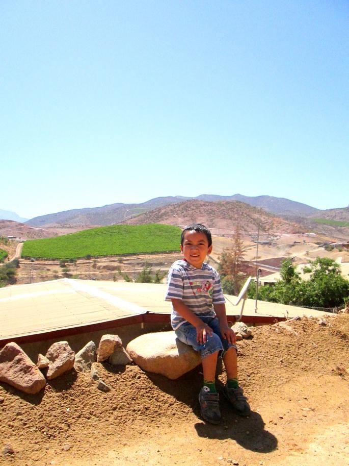Little boy Chañaral Alto Stanito