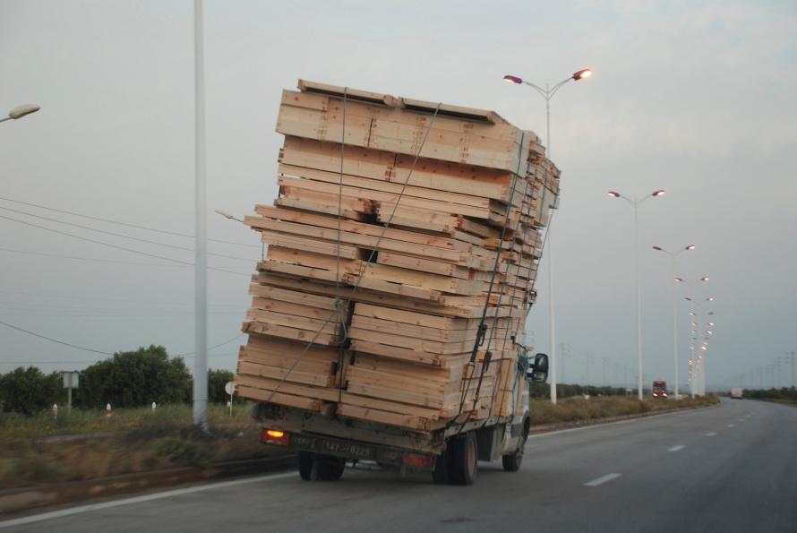 Danger Tunisia road 1