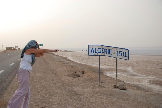 Street sign Algeria Stanito