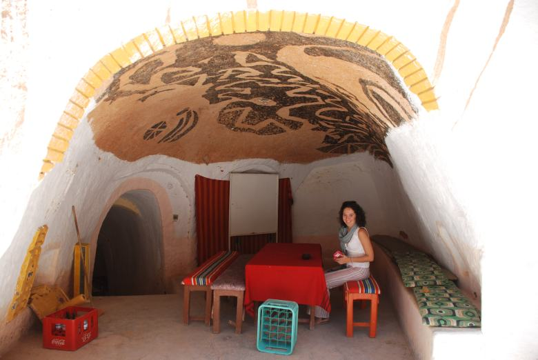 Hotel Sidi Driss in Matmata as Lars homestead Stanito