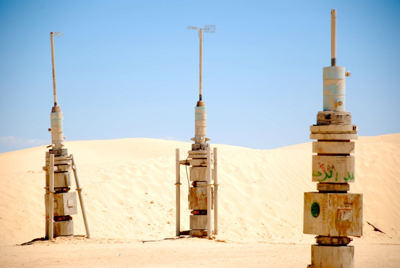 Wooden rockets Tatooine