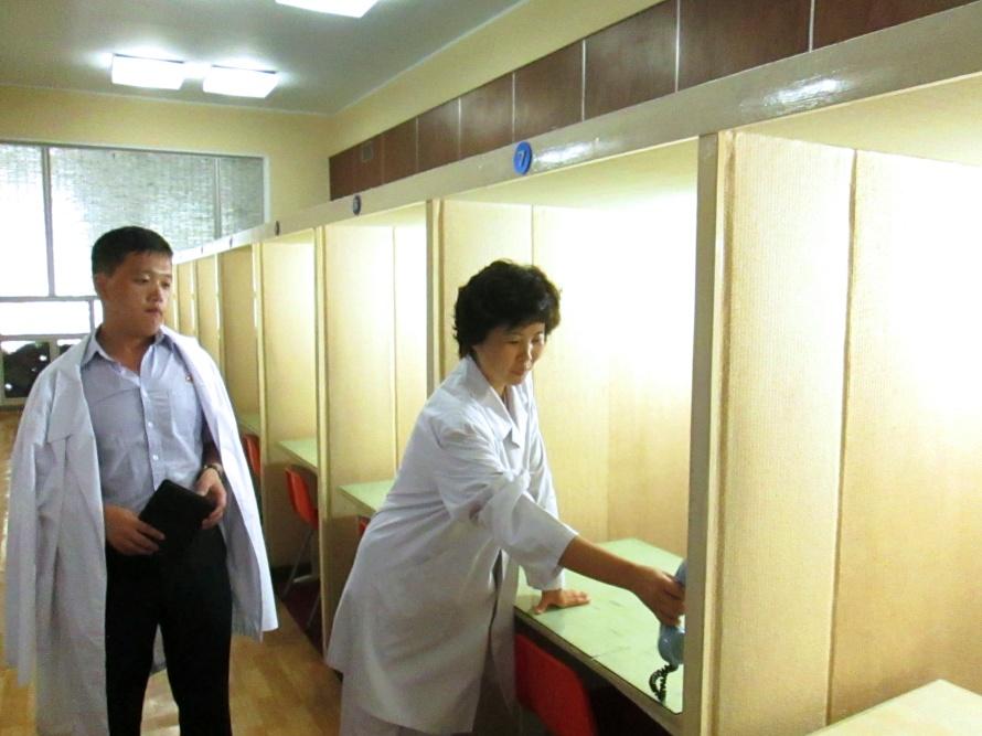 CCTV hospital watch system Stanito Pyongyang North Korea