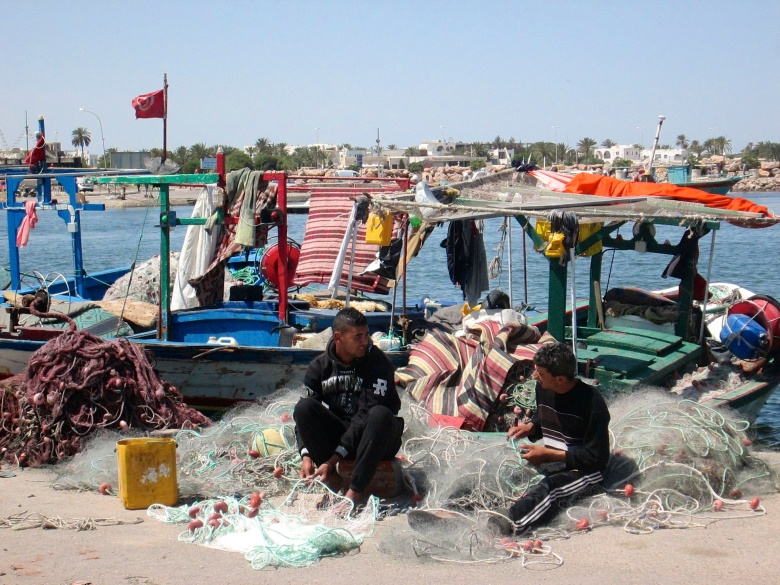 Djerba Houmt Souq Fishing port Stanito road trip