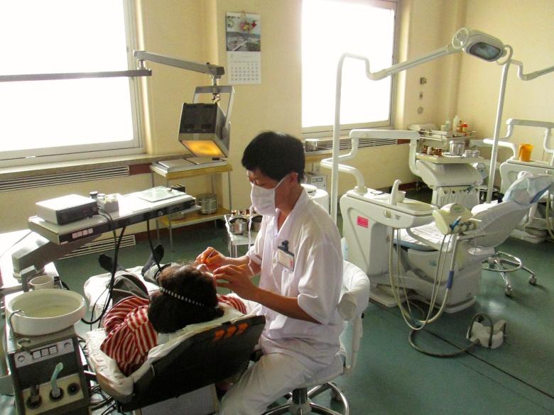 North Korea Pyongyang dentist Stanito