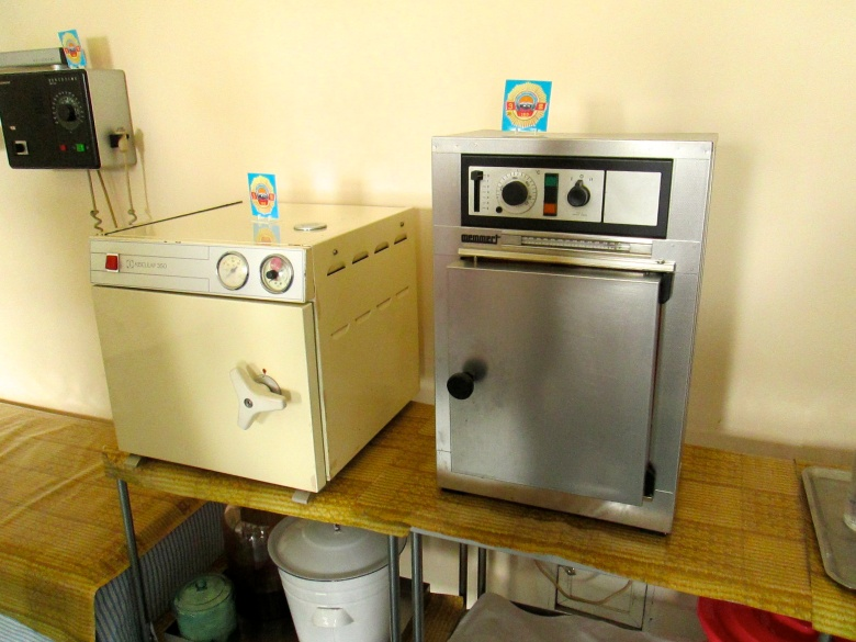 Pyongyang hospital machinery Stanito