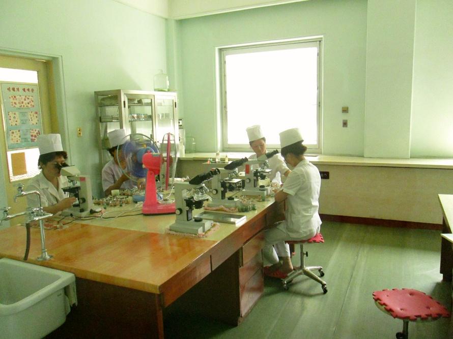 Pyongyang laboratory Stanito