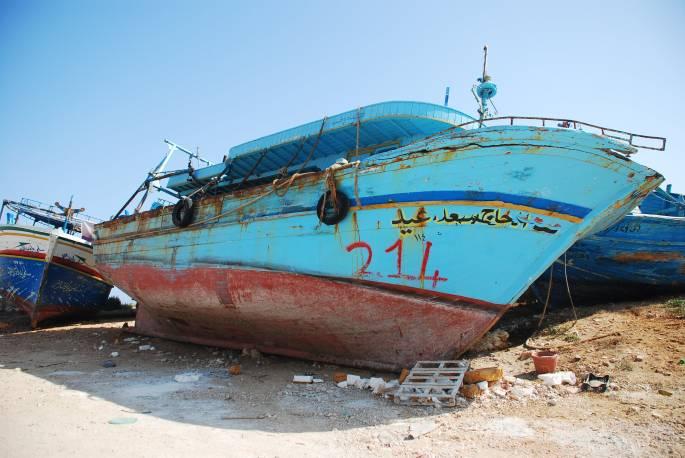 Arab Refugee Ship Graveyard Portopalo di Capopassero Sicily Stanito