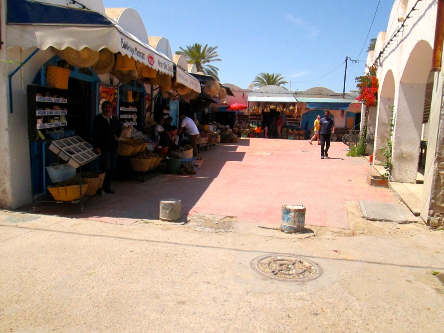 Entering the souq