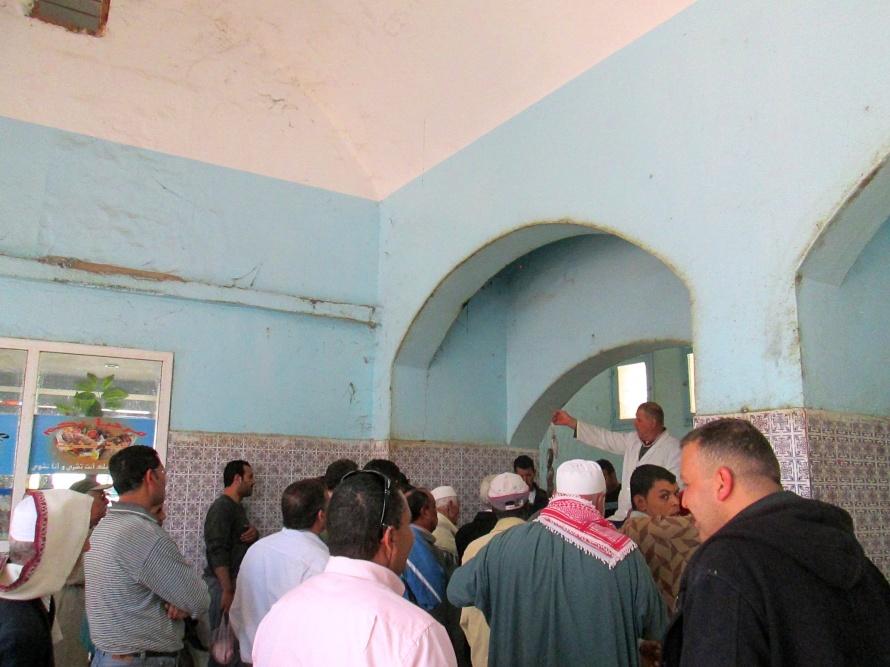 fish auction Djerba
